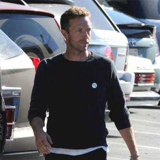 Embarrassing dad Chris Martin