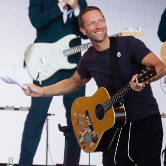 Chris Martin jokes he 'forced' kids to appear on new song