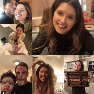 Chris Pratt and Katherine Schwarzenegger are Instagram official