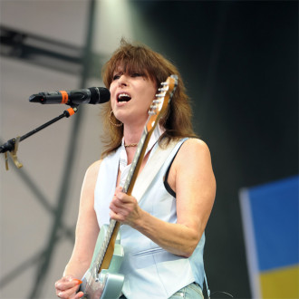 Chrissie Hynde recorded covers album 'almost entirely by text message'