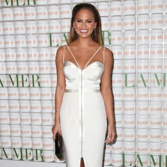 Chrissy Teigen's frozen beauty tip