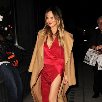 Chrissy Teigen Not Bothered By Baby Weight