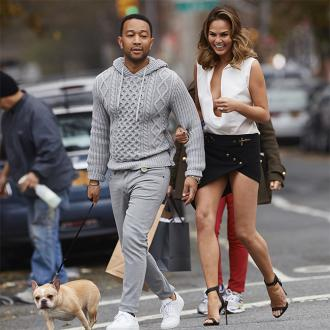 Chrissy Teigen's dog struck down with heart failure