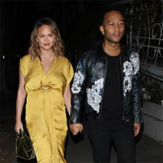 Chrissy Teigen Enjoys Surprise Baby Shower