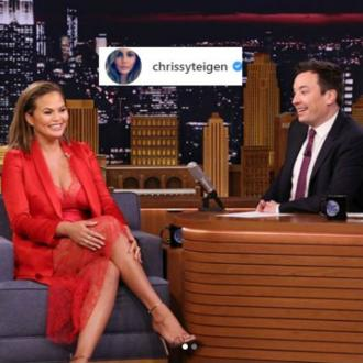 Chrissy Teigen sheds fake tears over All Of Me