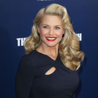 Christie Brinkley wears a bikini when she's gardening