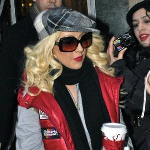 Christina Aguilera Crashes At Jeremy Renner's Party?