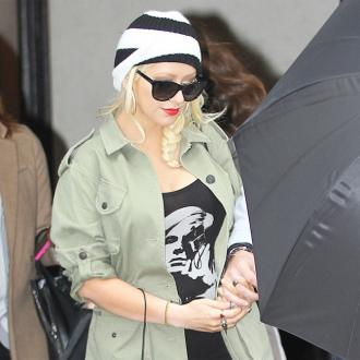Christina Aguilera Likes Cosy Nights In