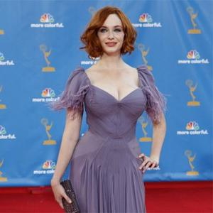 Christina Hendricks' Italian Curves