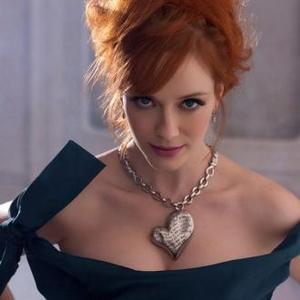 Christina Hendricks Borrows Show Clothes