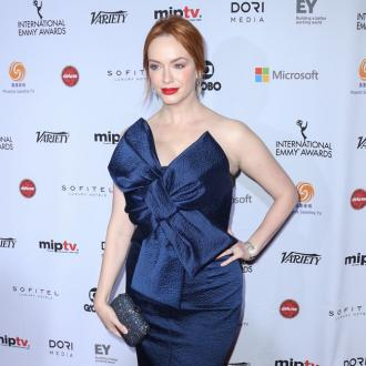 Christina Hendricks can milk a cow