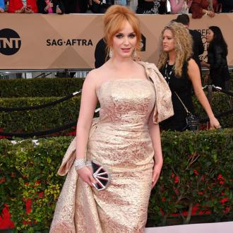 Christina Hendricks was the hand model for the American Beauty poster