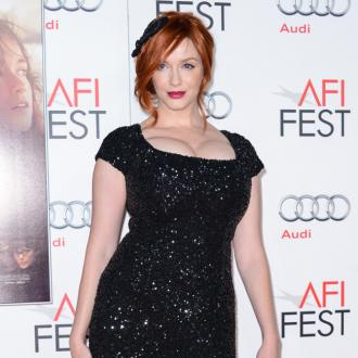 Christina Hendricks Injured In Fall