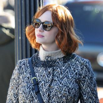 Christina Hendricks Thinks Redheads Have More Fun