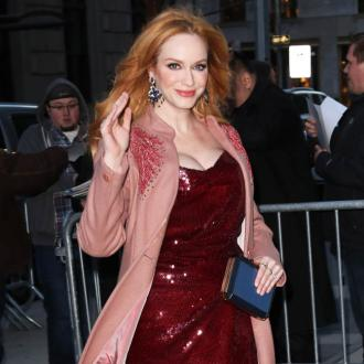 Agreeable wife Christina Hendricks