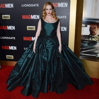Christina Hendricks' shock at mom role