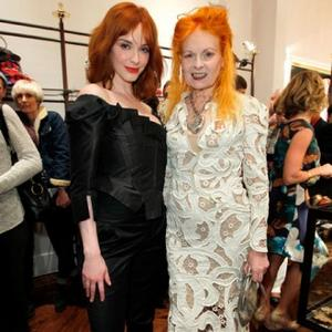 Christina Hendricks Helps Launch Westwood Store