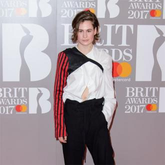 BRIT Awards photobomber Christine and the Queens