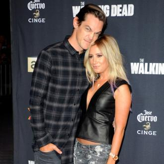 Ashley Tisdale 'obsessed' with wedding ring