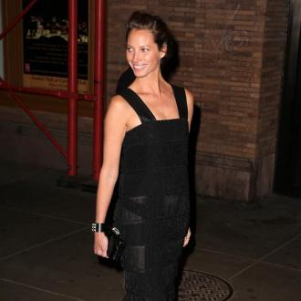 Christy Turlington enjoyed campaign with husband