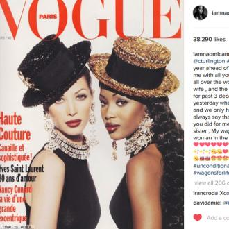 Naomi Campbell celebrates Christy Turlington's birthday with heartfelt message