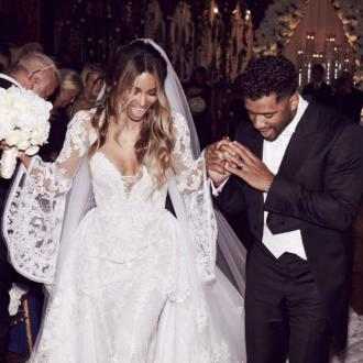 Ciara And Russell Wilson Share First Wedding Picture