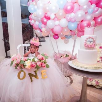 Ciara Throws Princess Party For Daughter