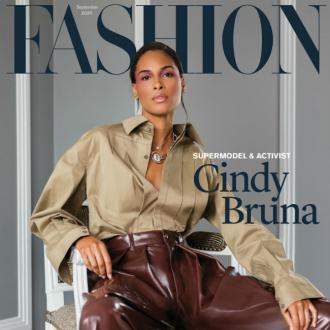 Cindy Bruna's digital make-up