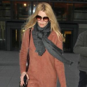 Claudia Schiffer Evicts Ghosts From House