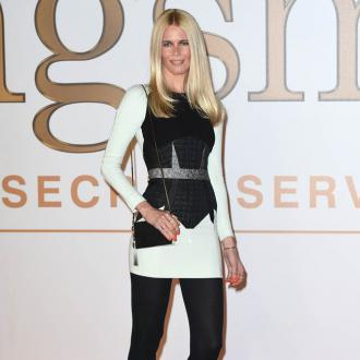 Claudia Schiffer Keeps Her Old Clothes