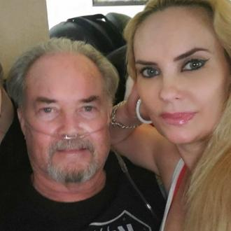 Coco Austin's dad is back home after coronavirus battle - but must rely on oxygen machine to breathe