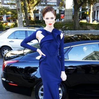 Coco Rocha admires Elizabeth Taylor's glamorous look