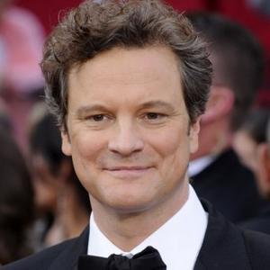 Colin Firth Celebrates Oscar Nod With Champagne