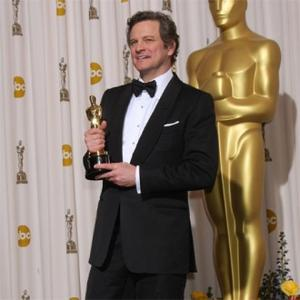 Colin Firth's Sons Use Oscar As A Toy