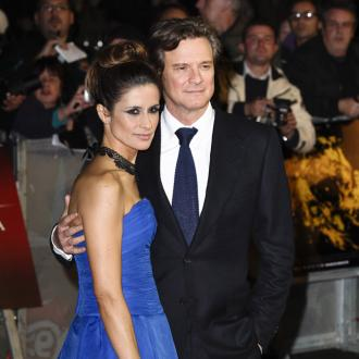 Colin Firth Makes Time For Romance