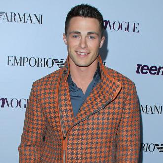 Colton Haynes Looks Up To Channing Tatum