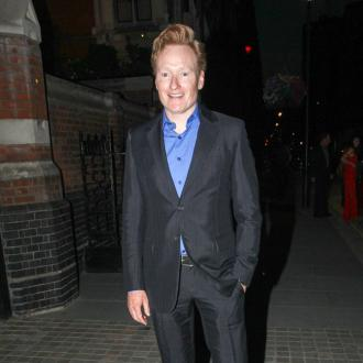 Conan O'Brien enjoys anonymity in England