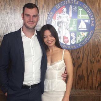 Cooper Hefner is married