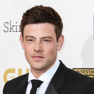 Cory Monteith's mum couldn't look at his photos