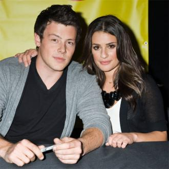 Lea Michele Visits Hotel Where Cory Died