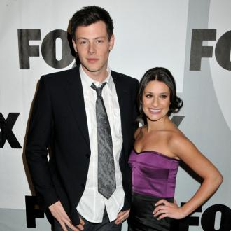 Lea Michele dedicates award to Cory Monteith