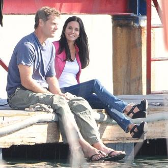 Brian Van Holt: Courteney Cox is 'phenomenal'