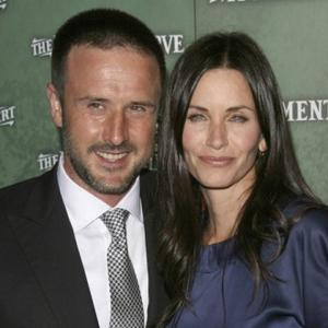 Courteney And David Together For Show