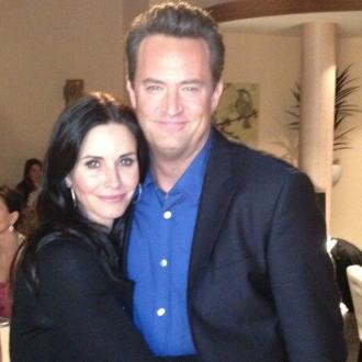 Courteney Cox And Matthew Perry's Reunion Is A 'Blast'