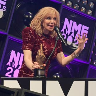 Courtney Love celebrates sobriety at NME Awards 2020