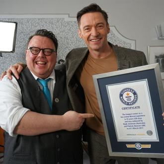 Hugh Jackman is a Guinness World Record holder