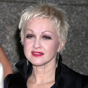 Cyndi Lauper Hands Out Cosmetics For World Aids Day