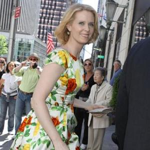 Cynthia Nixon Marries