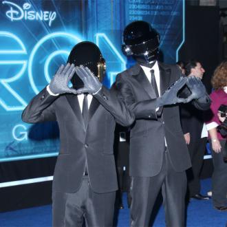 Daft Punk Never Take Helmets Off