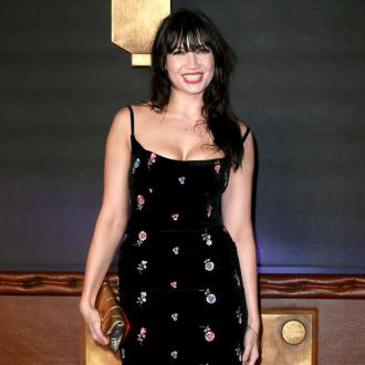 Daisy Lowe loves risque Christmas outfits